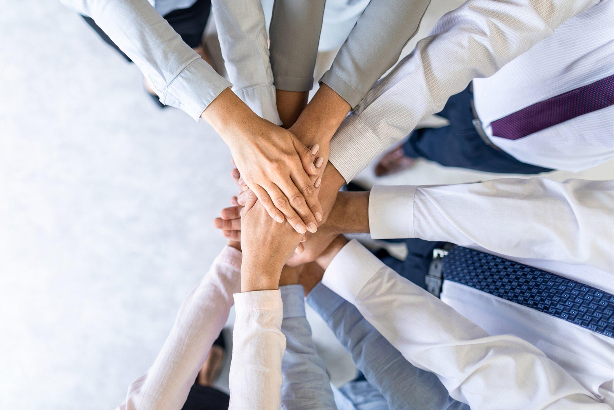 Careers Business Hands