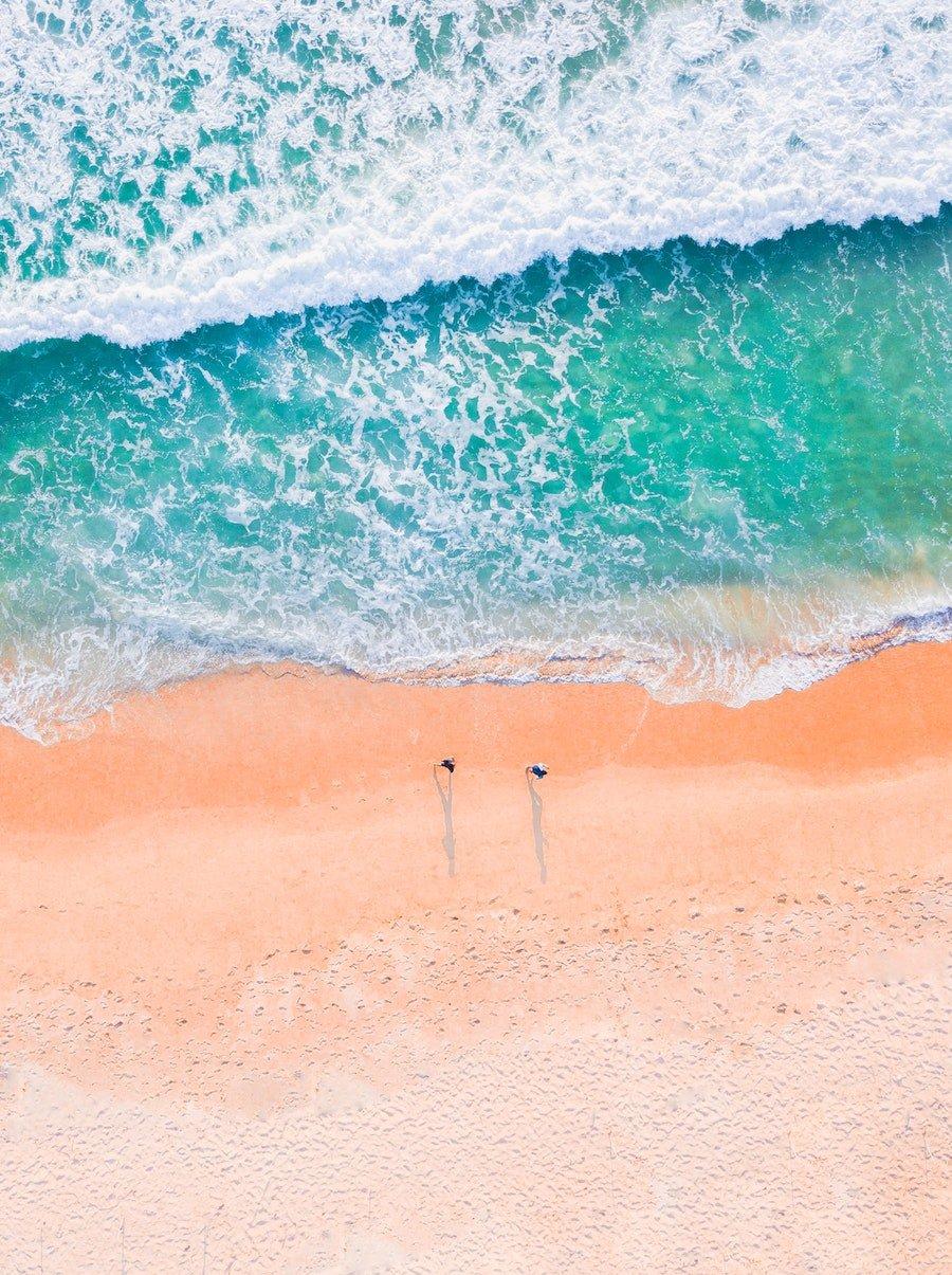 beach image compensation design